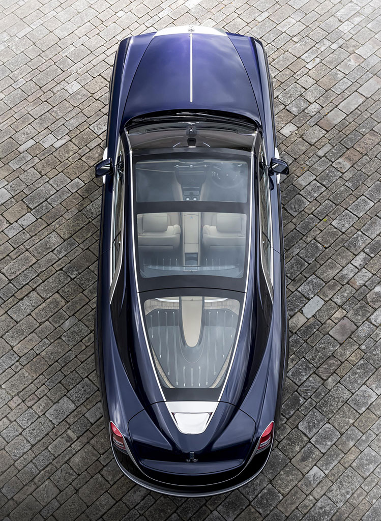 The Rolls-Royce Sweptail is a unique vehicle, handcrafted purely for its owner as the ultimate in luxury