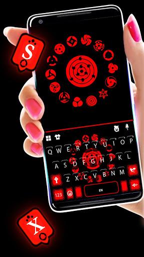 Sharingan Signs Keyboard Hintergrund-Screenshots 2