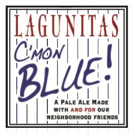 Logo of Lagunitas C'Mon Blue!