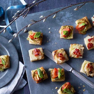 Puff Pastry Pizza Bites.