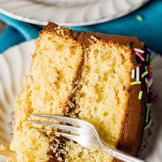 Homemade Yellow Cake.