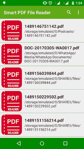 PDF File Reader screenshots 1