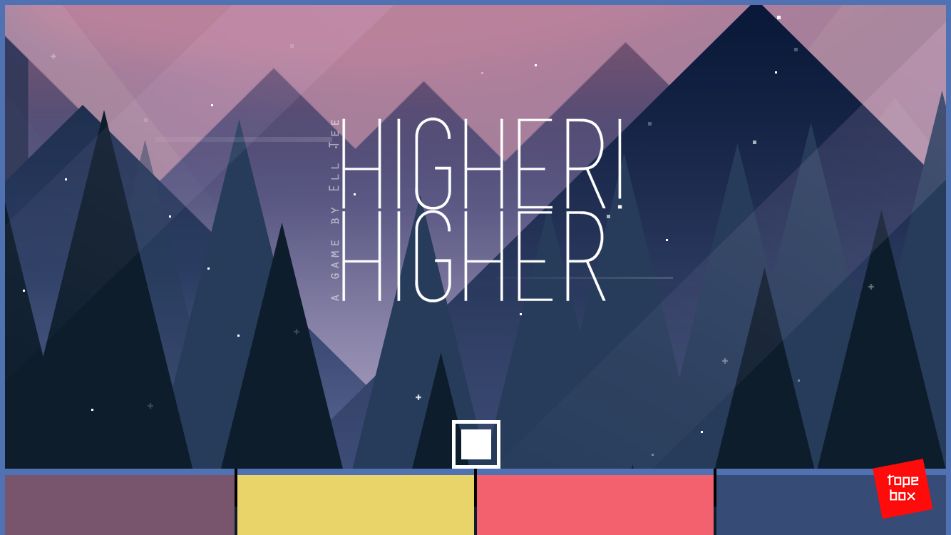 Higher Higher! (Color Matching Game)- screenshot
