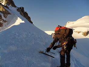 Photo: Tras pasar el Col del Maudit se ve el chorizo que nos queda. Pero ahora ya no  hay dificultades técnicas