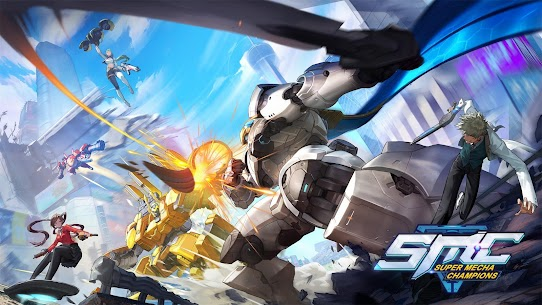 Super Mecha Champions Apk Download For Android and Iphone 1