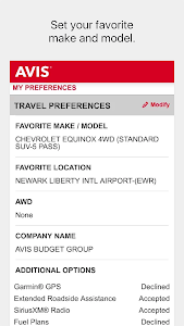Avis Car Rental screenshot 7