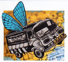 Photo: Wenchkin's Mail Art 366 - Day 202 - Card 202a