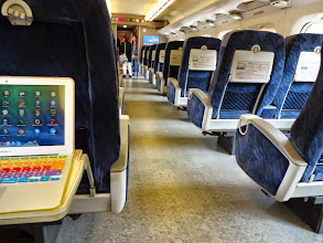 Photo: On our way from Hakata (Fukuoka) to Hiroshima by Kodama, the local Sinkansen bullet train. Unfortunately, there was no Wifi connectivity in the coach. 16th June updated (日本語はこちら) -http://jp.asksiddhi.in/daily_detail.php?id=575