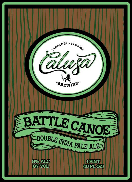 Logo of Calusa Battle Canoe