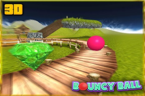 3D skákací míče - náhled
