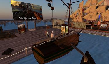Photo: Fair Winds Pirate Sim = http://maps.secondlife.com/secondlife/Gala/65/108/22