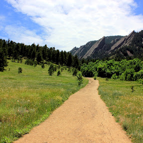 Chautauqua Park by Karthic Kumar - Landscapes Mountains & Hills ( hill, mountain, broomfield, colorado, boulder, scenic )