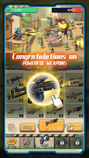 Zombies Battle-Plants Hunter screenshot 2