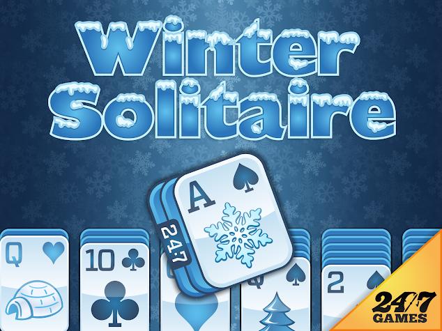 Winter Solitaire Screenshot