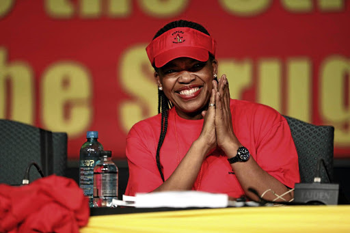 Recent comments by Cosatu president Zingiswa Losi sow doubt over Covid-19 vaccines. File photo.