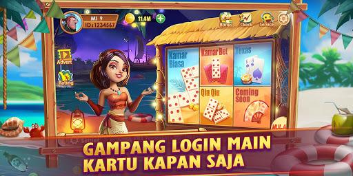 Domino Gaple QiuQiu 99 Poker Game Online Free Koin apkdebit screenshots 1
