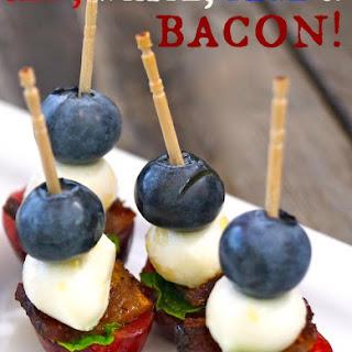 Cherry Bacon Blueberry Kebab