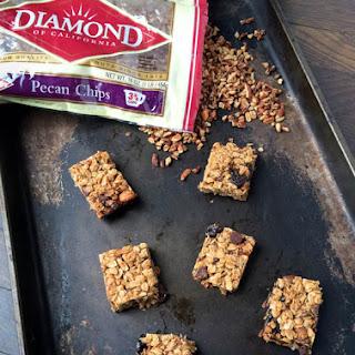 Chewy Chocolate Pecan Chip Granola Bars