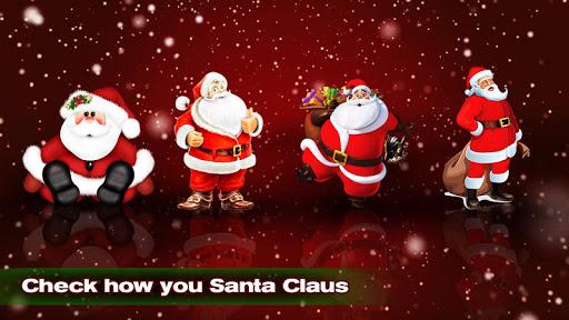 Face scanner: What Santa Claus