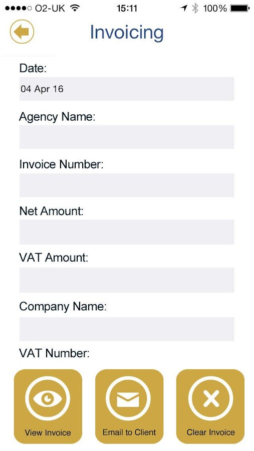 CEJ Accountants- screenshot