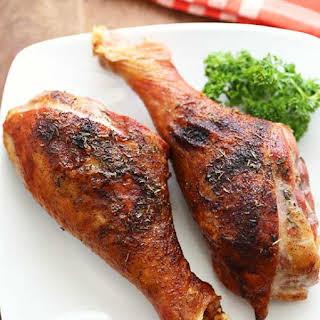 Roasted Turkey Legs.