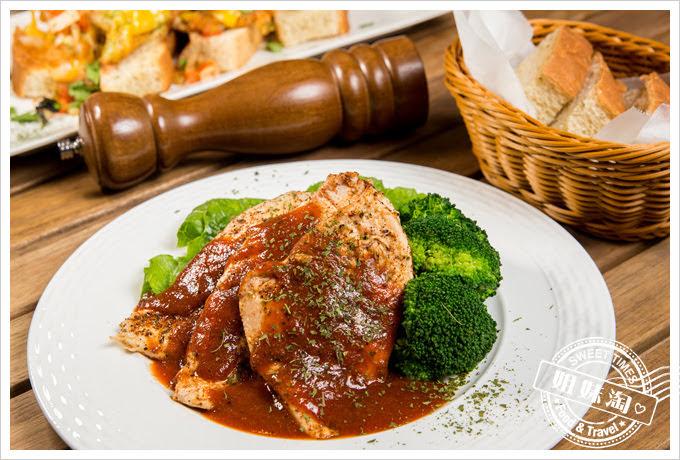 森夜早午餐餐廳墨西哥香料乾烤雞胸肉