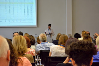 Photo: #eden14 Olaf Zawacki-Richter joint keynote speech with Terry Anderson Photo by SRCE
