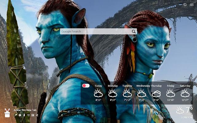 Avatar film New Tab, Wallpapers HD