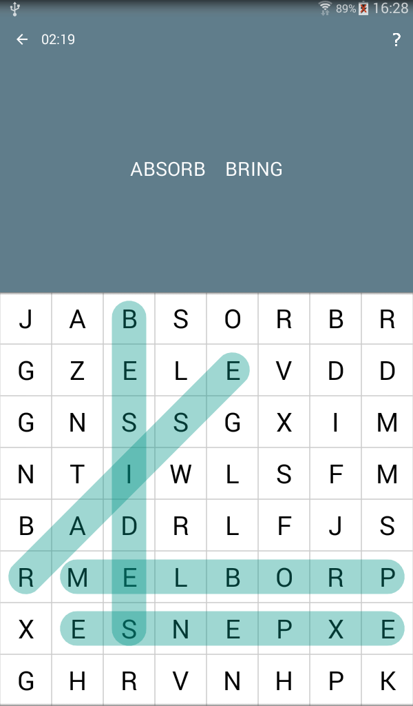Word Search Android 11