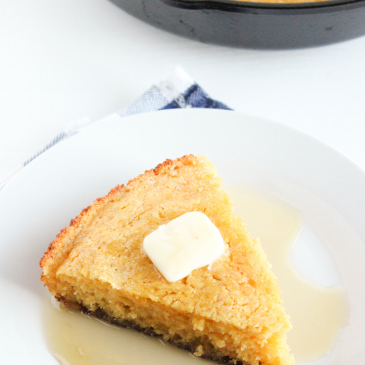 Lightened Up Skillet Cornbread Recipe