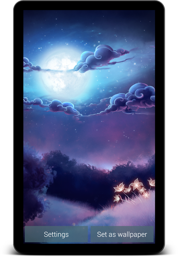Starlight Live Wallpaper Free- screenshot