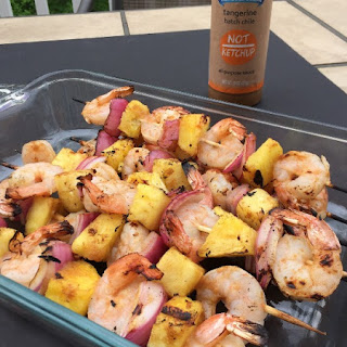 Sweet & Spicy Tangerine Chicken & Pineapple Kabobs Recipe