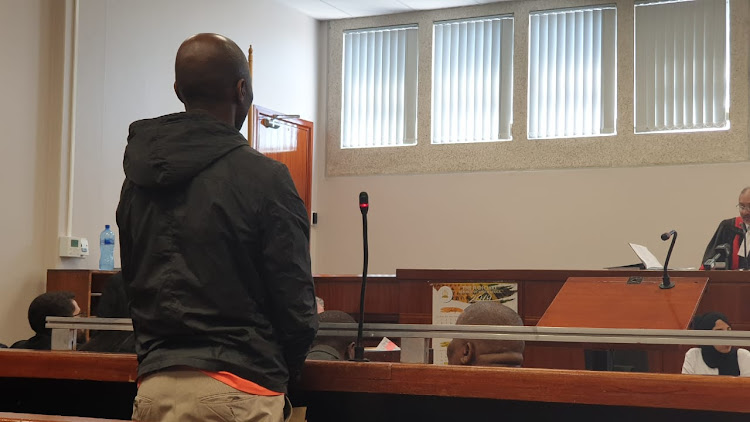 Luyanda Botha in court on Tuesday, November 2 2019.