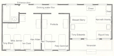 Photo: Plan of a typical boys' house. Livingstone #1