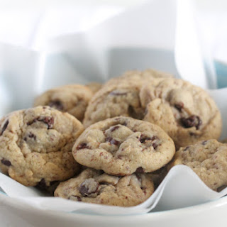 Healthier Chocolate Chip Cookies.