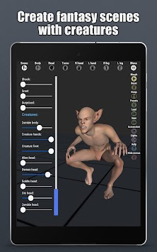 Download Art Model - 3D Pose tool and morphing tool by Code lunatics