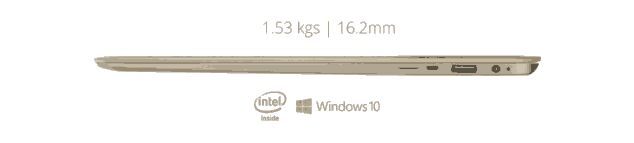 iLife ZED Air Laptop side view