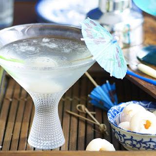 Lychee Martinis.