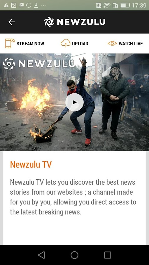 Newzulu- screenshot