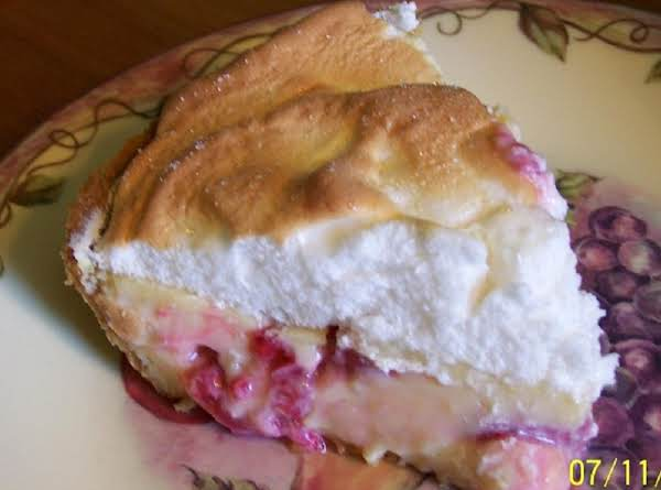 Cin's Raspberry-lime Cream Pie Recipe