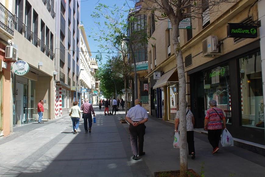 Calle Reyes Católicos.