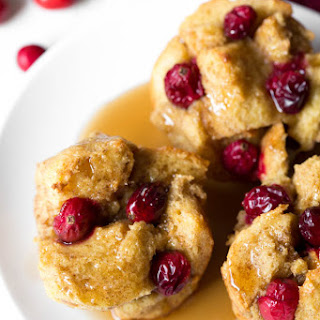 Cranberry French Toast Muffins.