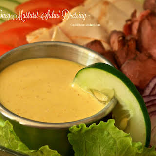 Creamy Honey-Mustard Salad Dressing & Dip.