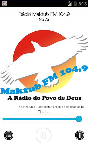 Maktub FM 104 9
