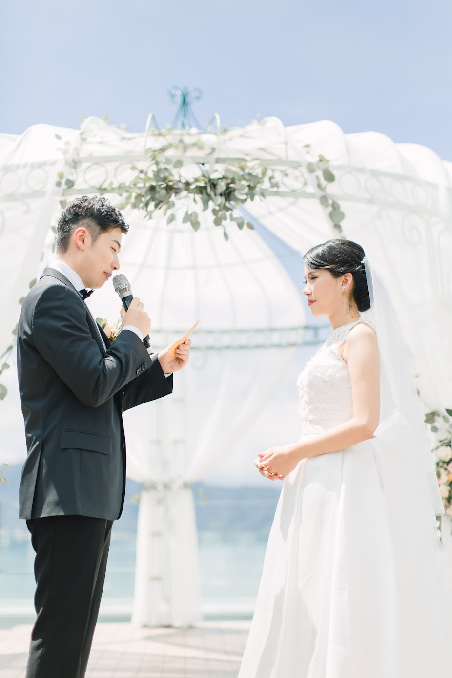 undefineda在 台南 的 日月潭雲品 場地舉行陽光正好的美式婚禮 , 是每位新娘夢寐以求的西式戶外婚禮樣式!