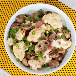 Garlic Cauliflower And Mushrooms Recipes.