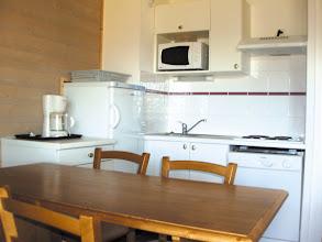 Photo: Cuisine et coin repas de la résidence (photo non contractuelle)