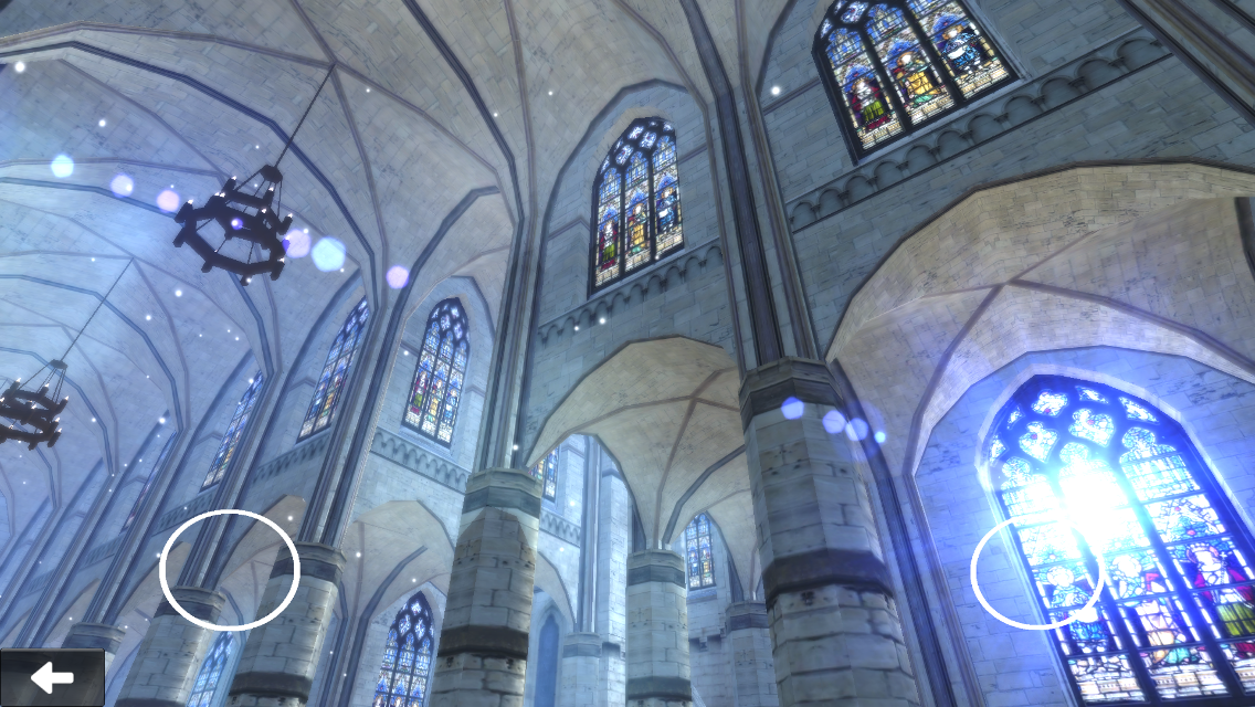VR Gothic cathedral- screenshot