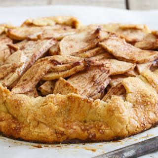 Gluten-free Cinnamon Sugar-apple Pie Galette