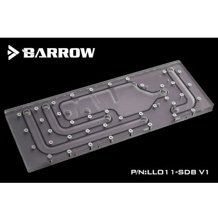 Barrow WaterWay for Lian Li PC-011, Sidemontert